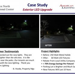 Commercial Exterior Lighting LED Upgrade