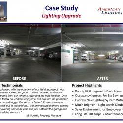 Brighter Safer Parking Garage Lighting