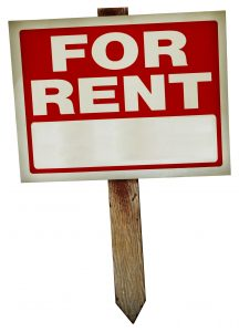 for-rent sign