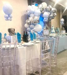 Baby shower event space