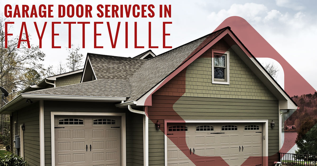 Charmant Garage Door Services In Fayetteville