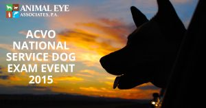 ACVO National Service Dog Exam Event 2015