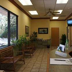 Waiting area at Animal Eye Associates
