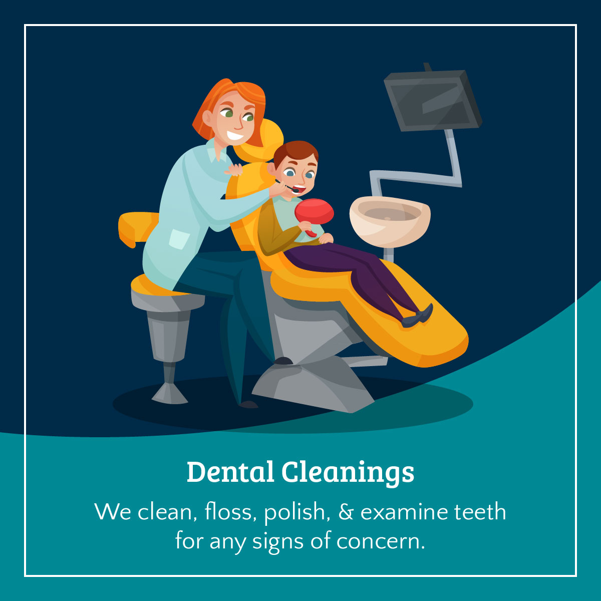 Highlighting Our Pediatric Dental Services Infographic 2