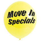 Move in special balloon