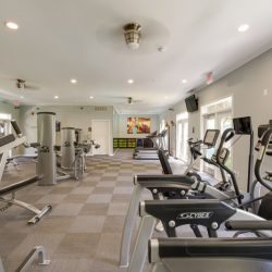 Fitness Center at Camden Midtown Apartments