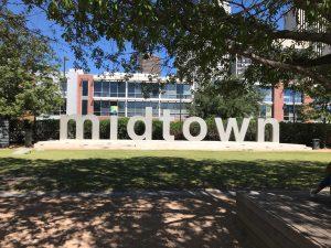 Houston Midtown Sign