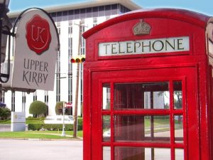 Upper Kirby Red Telephone Booth
