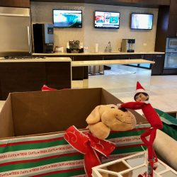 Millennium High Street Apartment Toys for Tots donation