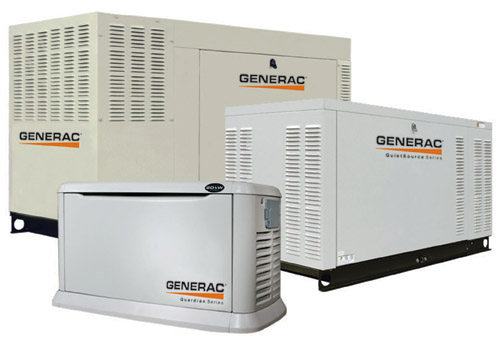 Be prepared with a Generac Standby Generator