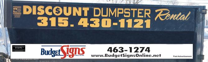 A dumpster rental fleet with a different logo.