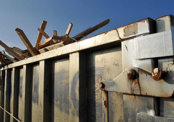 An image of a dumpster.