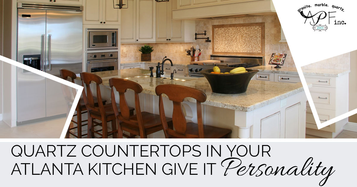 Quartz Countertops In Your Atlanta Kitchen Give It Personality