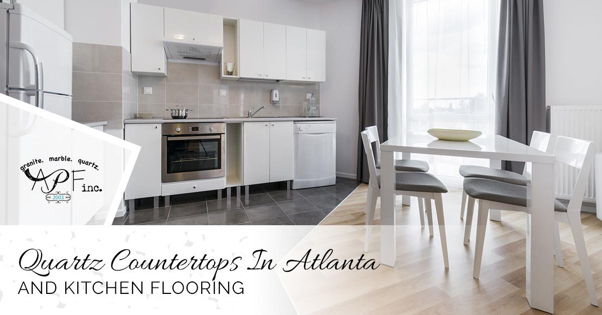 Quartz Countertops Atlanta: Types Of Flooring For Your Kitchen