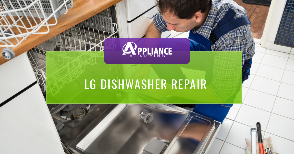 LG Dishwasher Repair - Call Us For Same-Day Appointments In Keller ...