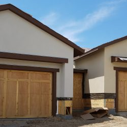 ... Custom Wood Garage Doors   Absolute Quality Garage Door Will Provide  The Sections For A Builder To Side, Then Install The Doors With Proper  Springing ...