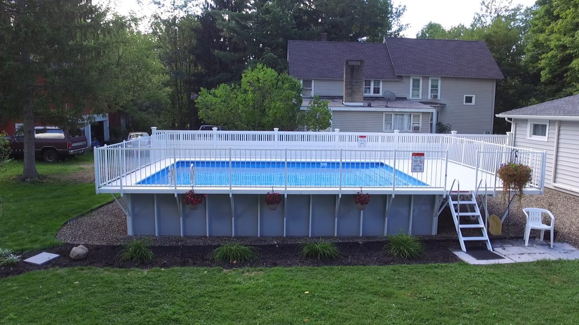 The Kayak Pool Gallery Above Ground Pool Installers