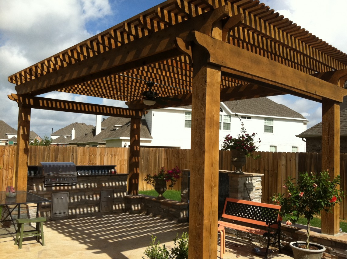 Backyard Covered Patios   Outside Covered Patios 77450 ... on Detached Covered Patio Ideas id=27640