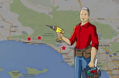Contact our handyman in Ventura.