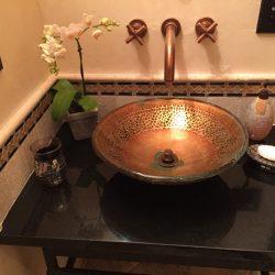Bathroom Sink Installation After