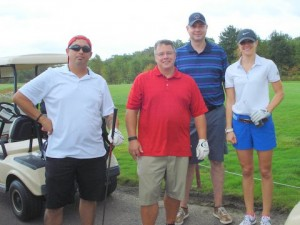 Golf - foursome with longest drive