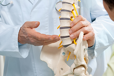 Picture of a Chiropractor