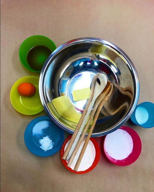 A picture of the utensils used in our Farm Foodies classes.