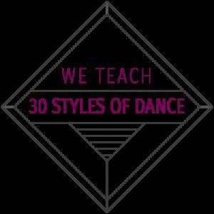 30 Styles of Dance Badge