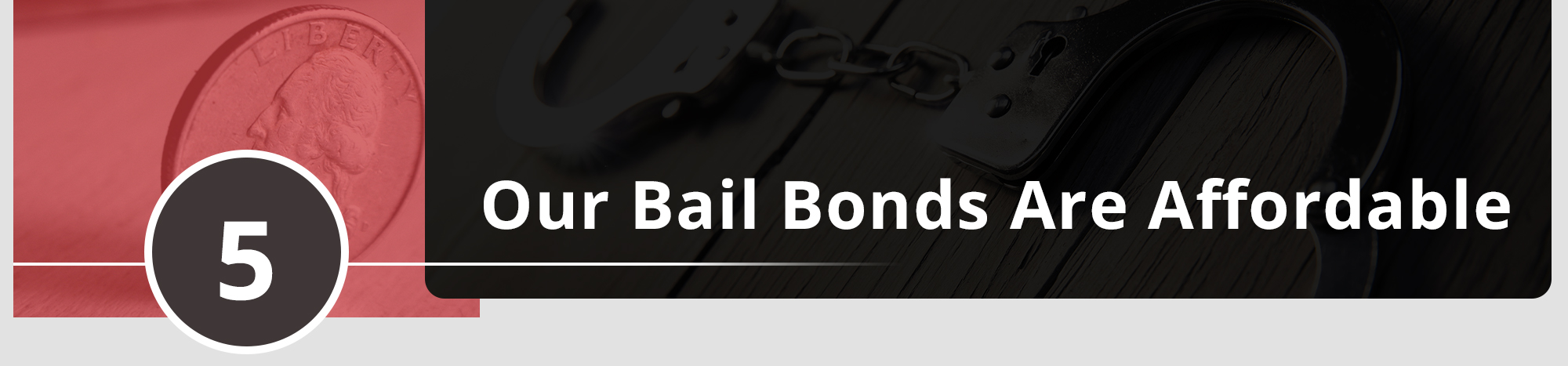 Our Bail Bonds Are Affordable