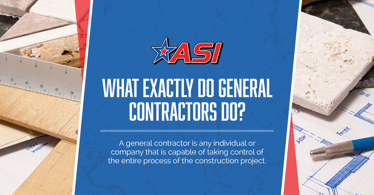 Building And Construction Services - What Exactly Do General