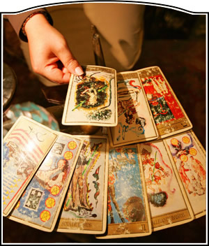 Contact us today for skilled tarot card reading.