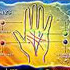Illustration of the palm lines that are read for a psychic palm reading at Astrology Boutique in Chicago.