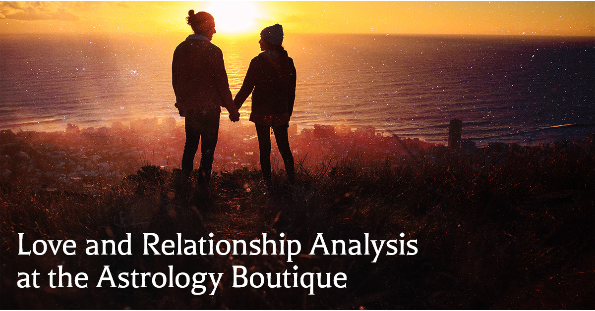 Authentic psychic readings about love and relationships from Astrology Boutique in Chicago.