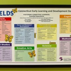 A CTELDS sign at Strong Stat Early Learning Center