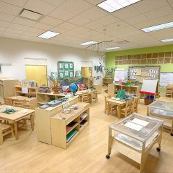 Pre-K classroom at Strong Start Early Learning Center