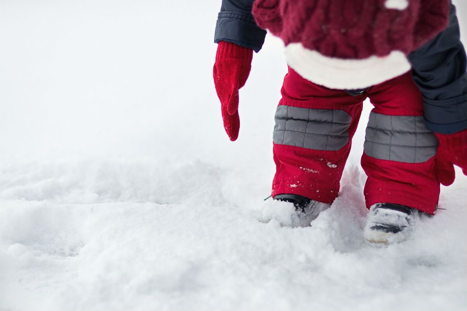 Using inquiry based learning and child care services in the snow