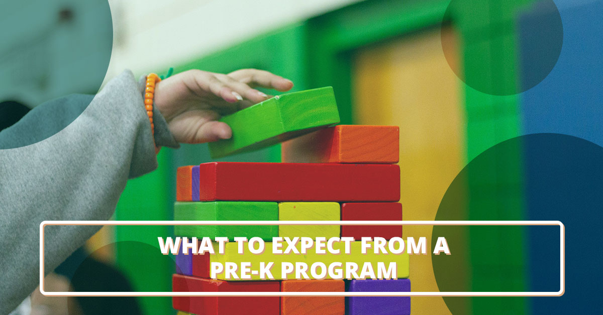 What you can expect from our pre-k program