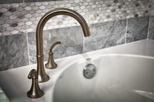 atlanta rental property bathroom fixtures