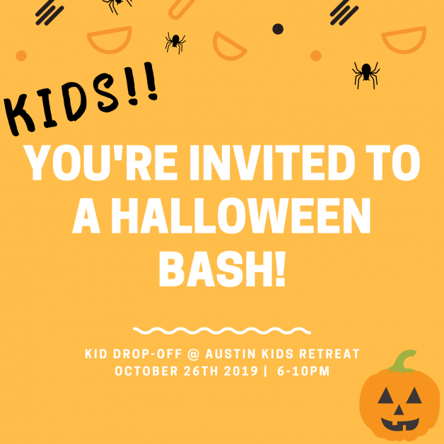 October 26th events in Austin for kids