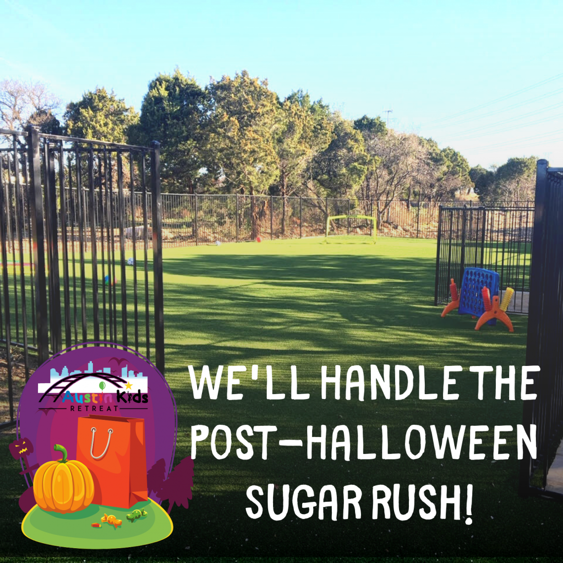 Halloween at Austin Kids Retreat