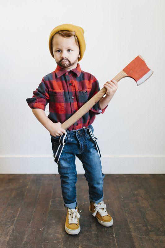 lumberjack or lumberjill diy costume
