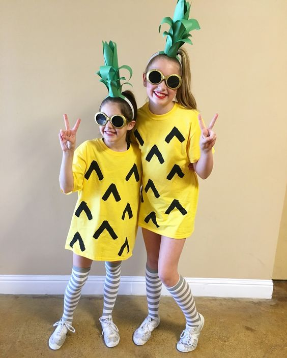 pineapple diy costume