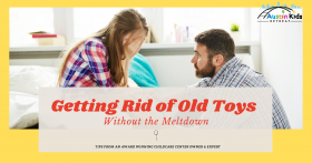 getting rid of old toys without a meltdown