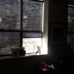 Black Interior Window Solar Shades - Austin Shade Team