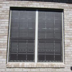 Solar Window Screen With Blinds - Austin Shade Team