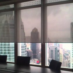 Commercial Office Solar Window Screens - Austin Shade Team