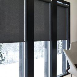 Window Screen Indoors - Austin Shade Team
