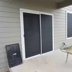Sliding Door Sun Shade - Austin Shade Team