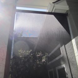 Black Roller Sun Screen Fabric - Austin Shade Team
