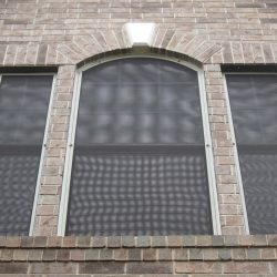Custom Shaped Solar Window Screens - Austin Shade Team